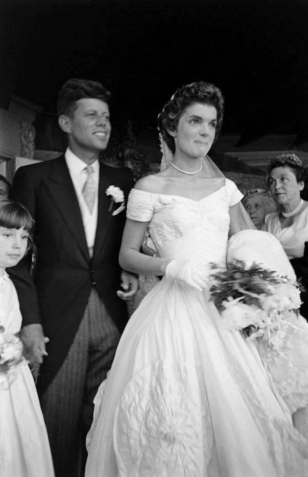 Rochie de nunta Jacqueline Kennedy